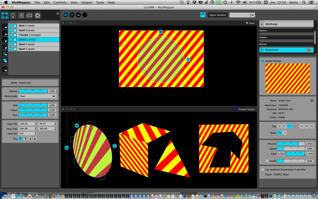 3D映射投影工具:MadMapper2