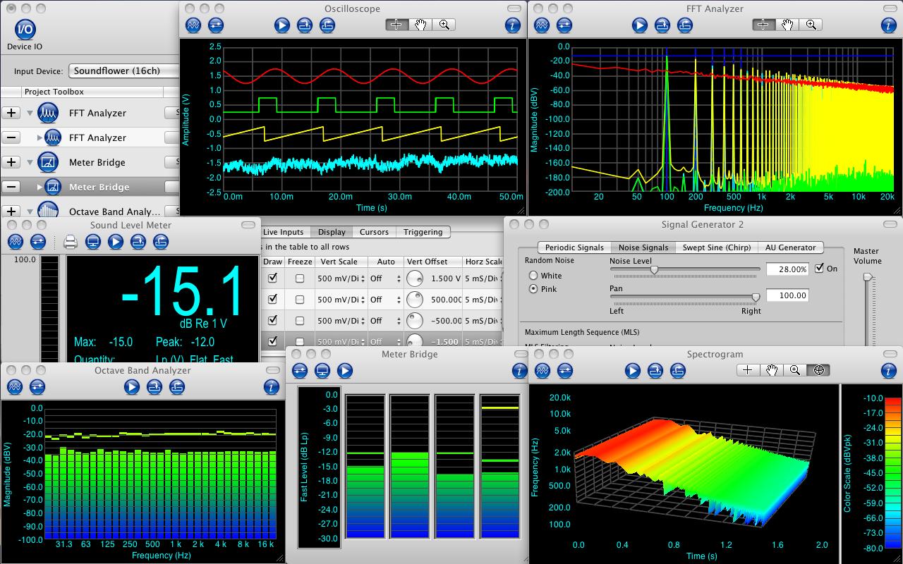 SignalScope Pro 3.8.3 Mac OS X