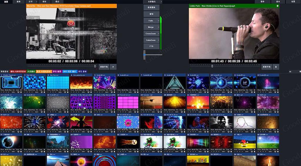 视频切换与直播:vMix Pro