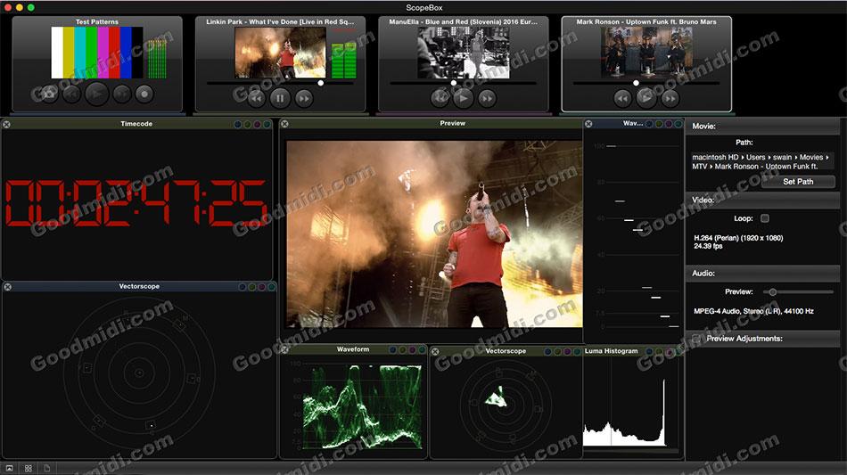 视频预览监视软件:ScopeBox 3.5.3