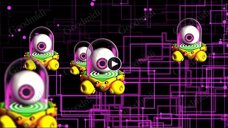 卡通 外星人怪物视频素材26个