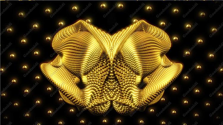 金色VJ素材 Golden-dreams