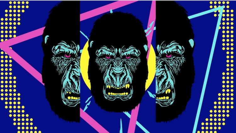 大猩猩素材