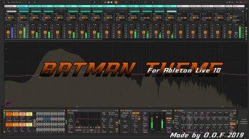 The Batman  Ableton Live主题皮肤