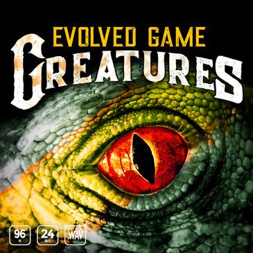 游戏生物音效:Evolved Game Creatures